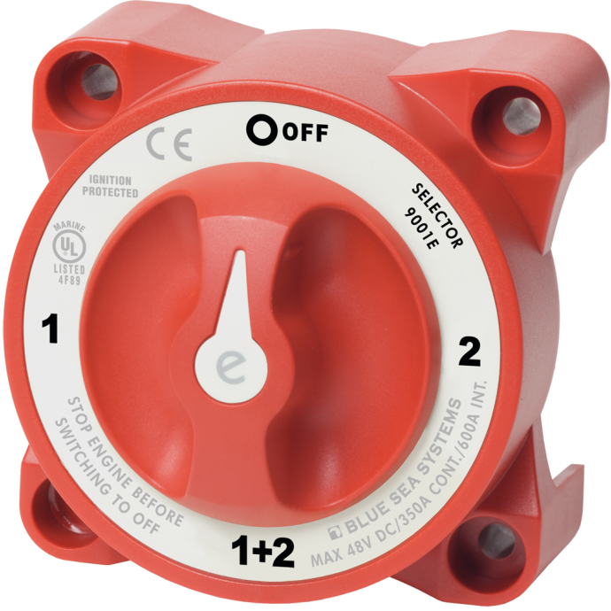 e-Series Battery Selector Switch - 4 Positions