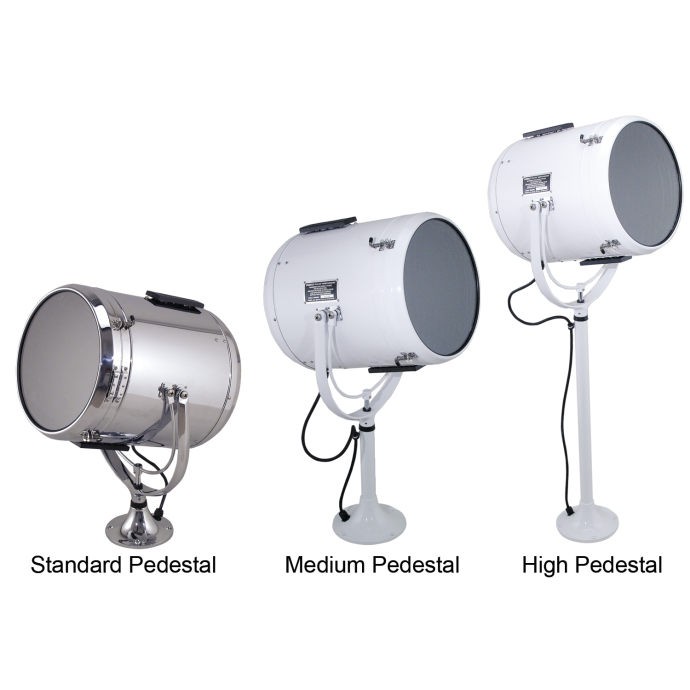 Fig. 884 Lever Control Solar-Ray® Searchlight Head Assembly and Pedestal