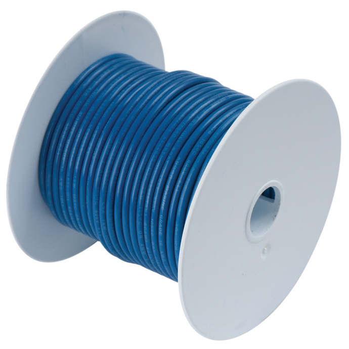 10 DARK BLU TINNED COPPER WIRE (100FT)