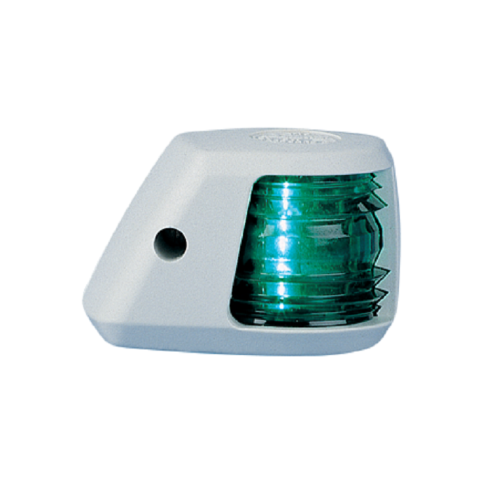 Aqua Signal Series 20 White Navigation Light - Side Mount, Starboard