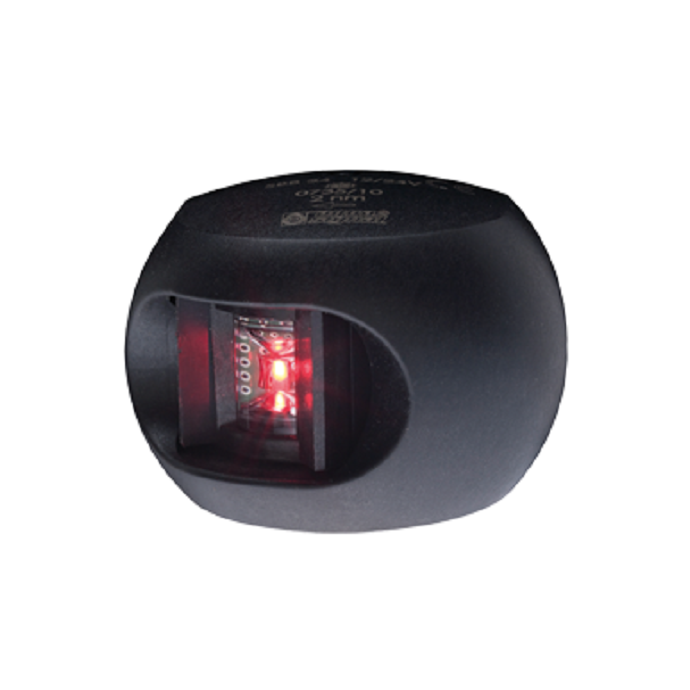 Series 33 LED Navigation Light - Port, Black