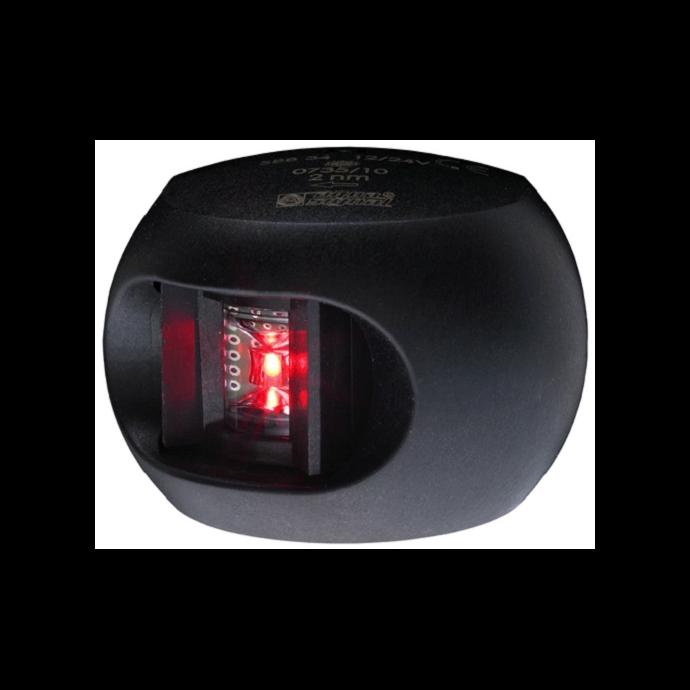 Aqua Signal Series 34 LED Navigation Light - Port Side, Black Housing