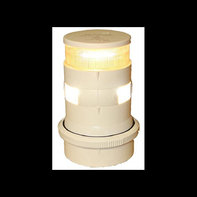 White Aqua Signal Series 34 Masthead/Anchor Light