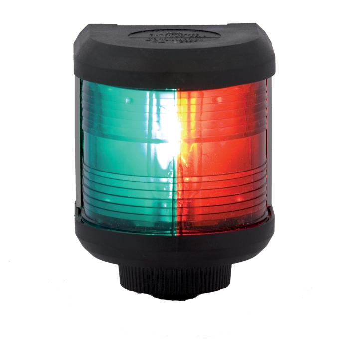 Aqua Signal Series 40 Navigation Light - Bi-Color, Black Housing