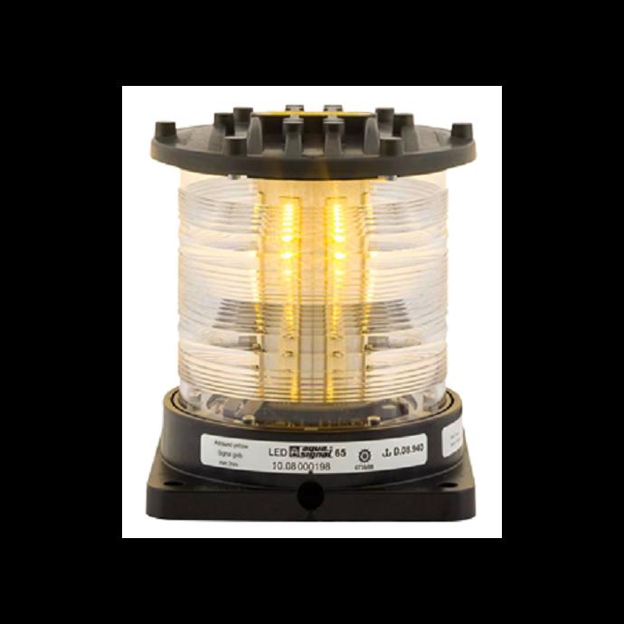 Aqua Signal Series 65 LED Navigation Light - Signalling, Yellow