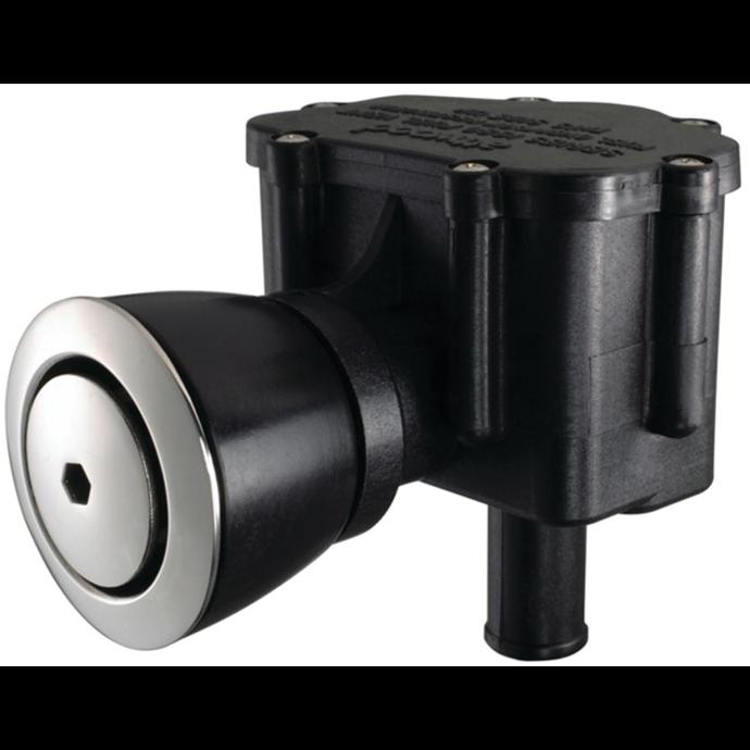 Attwood P-Trap Combination Fuel Tank Vent & Fuel Water Separator - Flush Mount