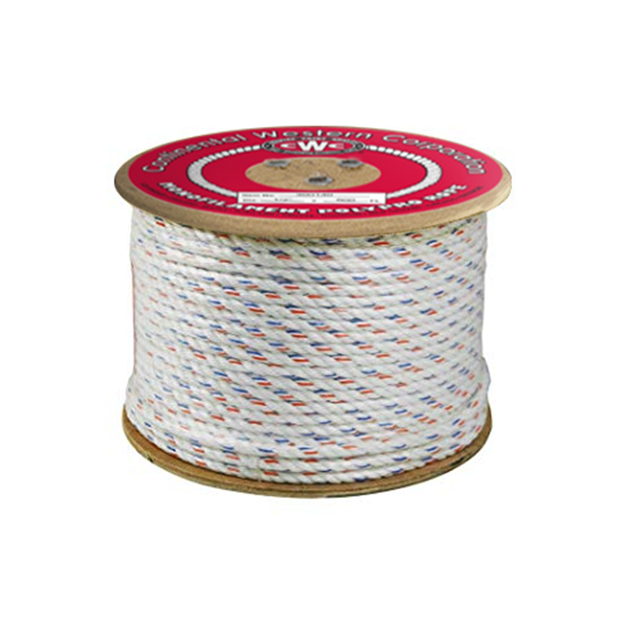 325045 of Continental Western 3-Strand Poly Dacron Rope