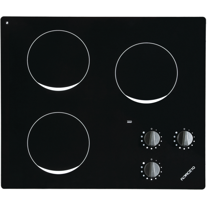 Three Burner Ceramic Glass Electric Cooktop