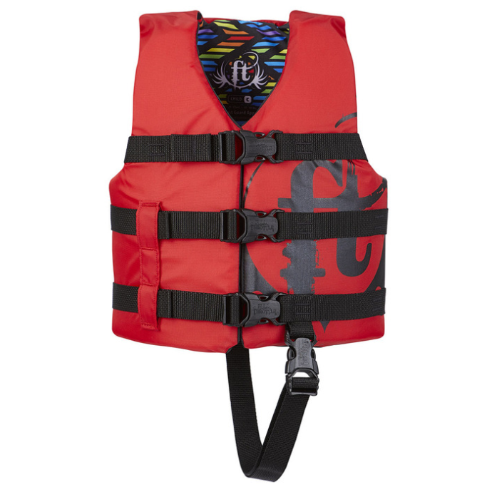 112200-100-001-19 of Full Throttle Infant, Child and Youth Nylon PFD Vests