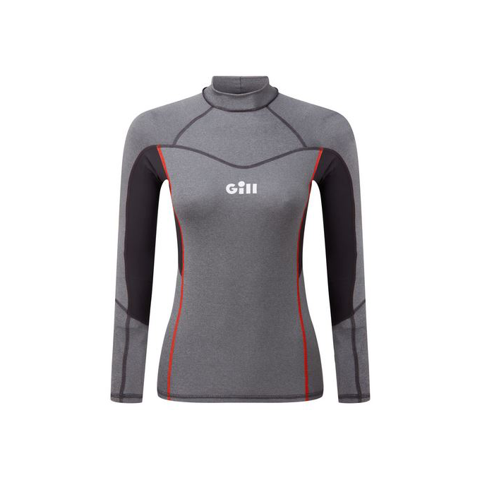 5020wg4 of Gill Pro Rash Vest Long Sleeve Women's