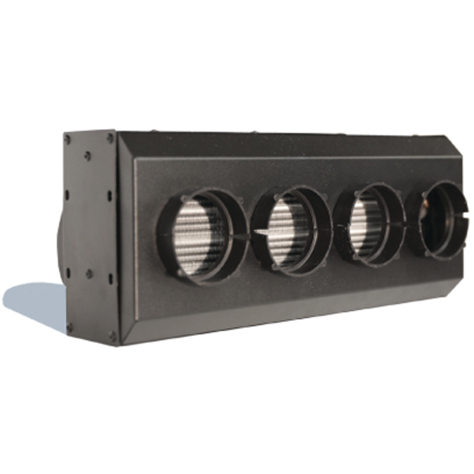 3H Series 4 Vent Hydronic Heater With Hot Tubes