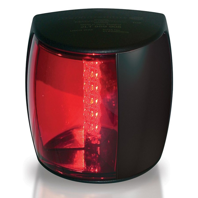 NaviLED Pro Navigation Lamps - Port, Black