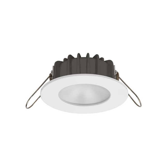 "IMTRA 3-3/16"" Ventura PowerLED Recessed Mount Spot Light - White SS Trim"