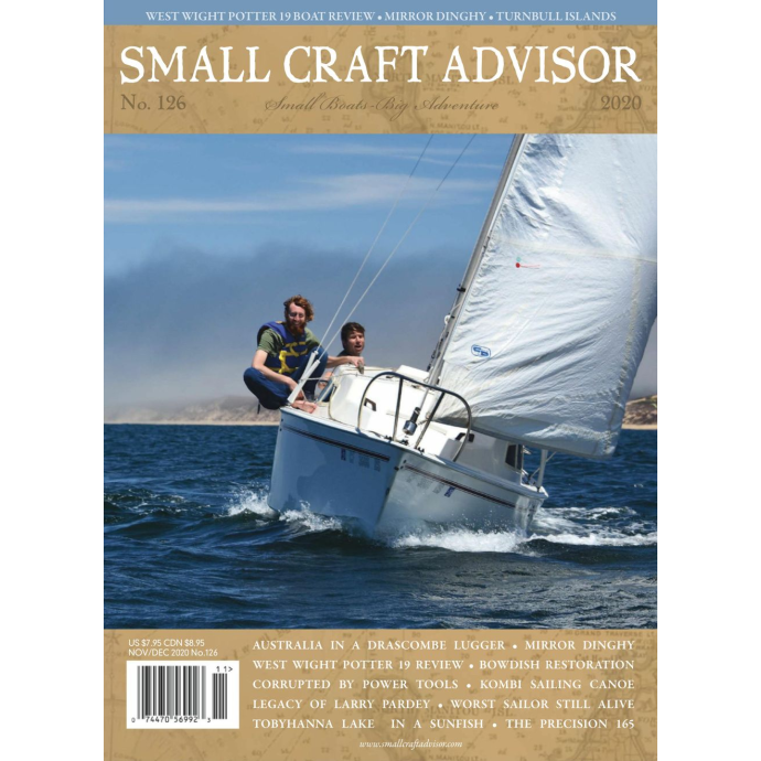 56992 of Ingram Periodicals and Mags Small Craft Advisor