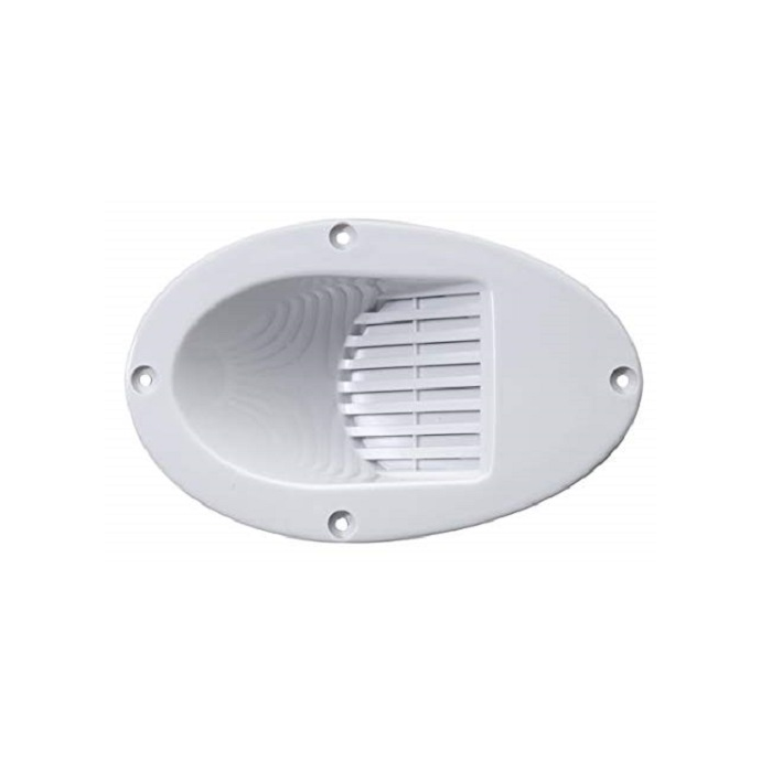 Hull Mount Drop-In Electric Horn - White