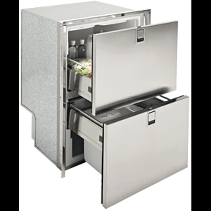 Drawer 160 SS INOX Refrigerator / Freezer - 5.5 Cu Ft