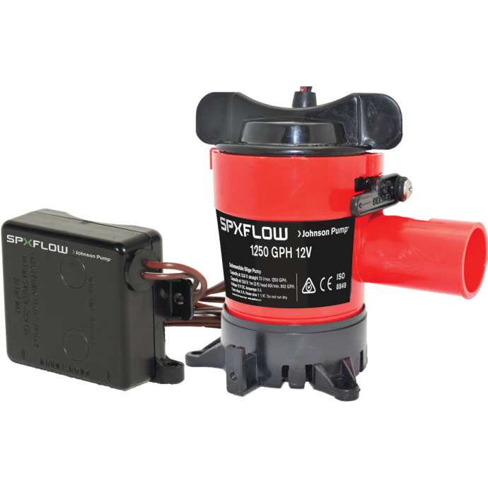 1250 GPH Ultima Combo - Automatic Submersible Bilge Pump with Ultima Switch