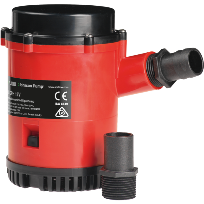 2200 GPH High Capacity Bilge Pumps