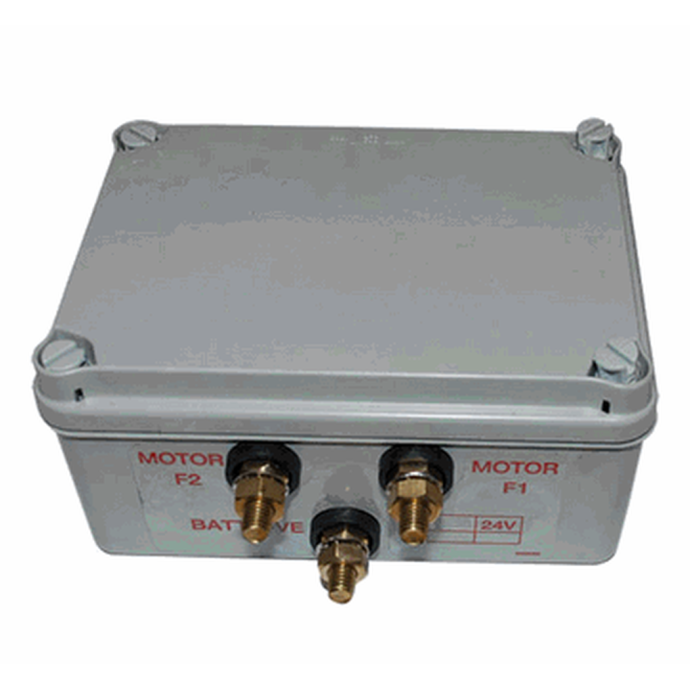 Sample Image of Contactor Box of Lewmar Windlass Contactor / Solenoids in Sealed Box - Dual Direction