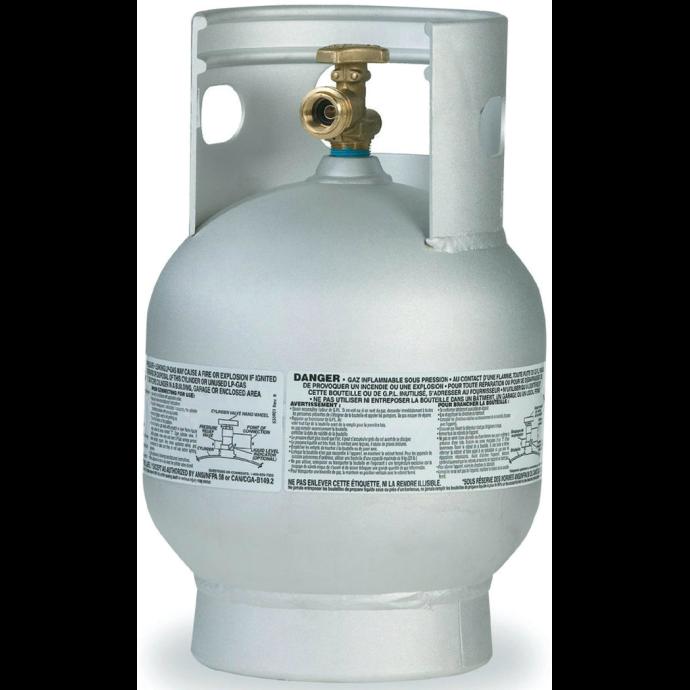 Aluminum Propane Cylinders - 20 lb. Vertical