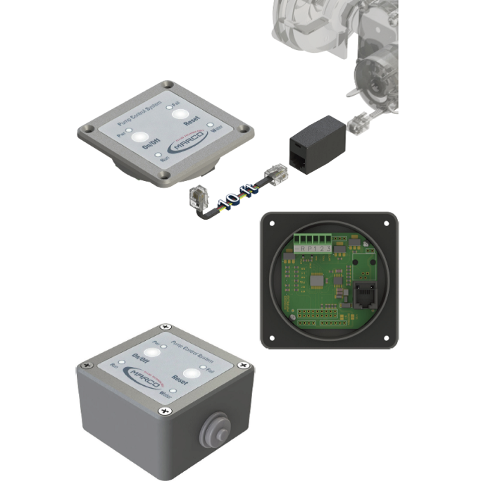 m165-203-15 of Marco from Mate USA Control Panel System