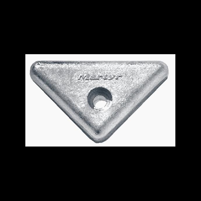 zinc of Martyr Volvo Penta Triangle Anode - Aluminum