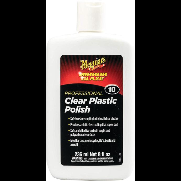 Meguiar's Clear Plastic Polish, No. 10