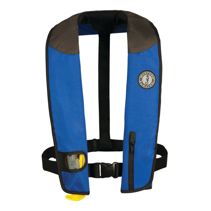 Main View of Mustang Survival Deluxe Manual Inflatable PFD