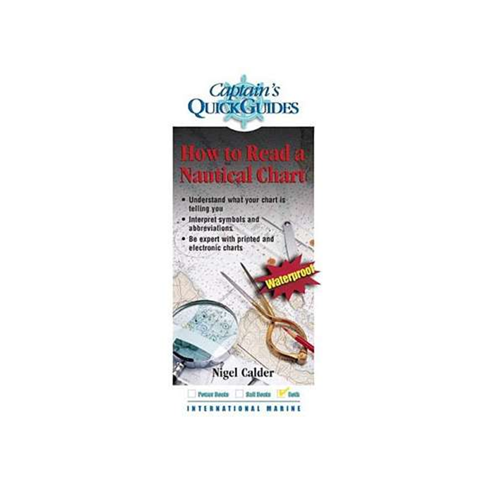 int374 of Nautical Books Captain's Quick Guides: How to Read a Nautical Chart