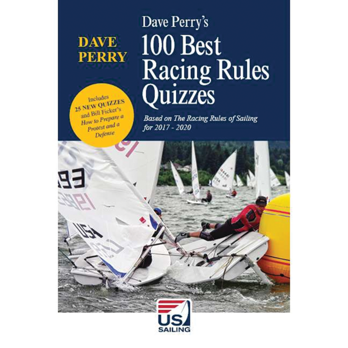uss035 of Nautical Books Dave Perry's 100 Best Racing Rules Quizzes 2017-2020