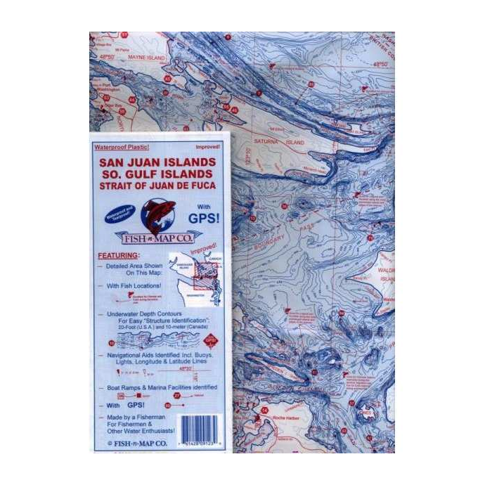 Fish-n-Map - Folding Fishing Location Maps