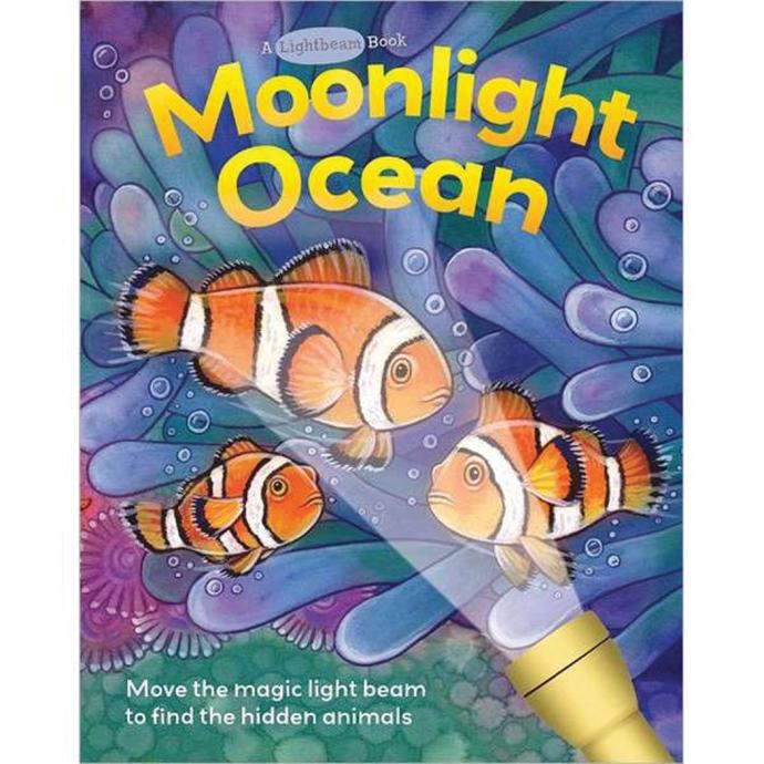 per020 of Nautical Books Moonlight Ocean