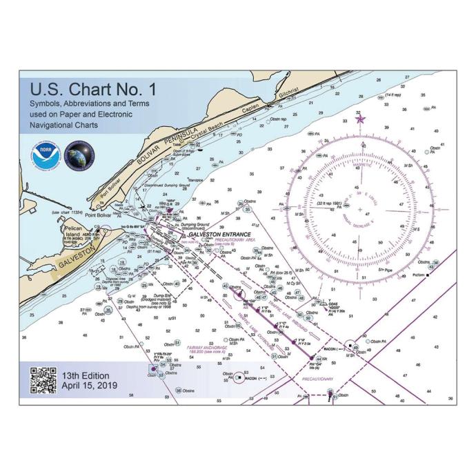 par073 of Nautical Books U.S. Chart No. 1