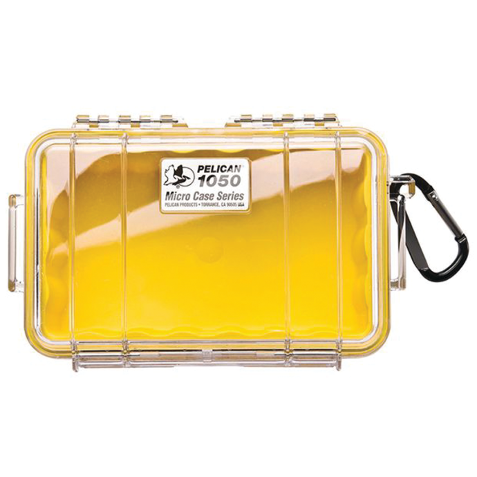Pelican 1050 Micro Cases - with Clear Lid - 64 Cu In