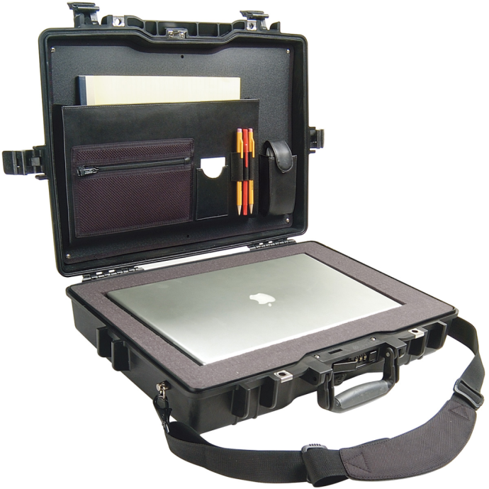 "lid detail of Pelican Pelican 1495CC2 Laptop Case - Fits 17"" Laptops"