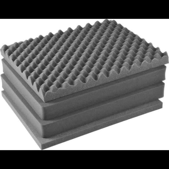 Pelican 1601 - 4-Piece Replacement Foam Set for 1600 Series Cases