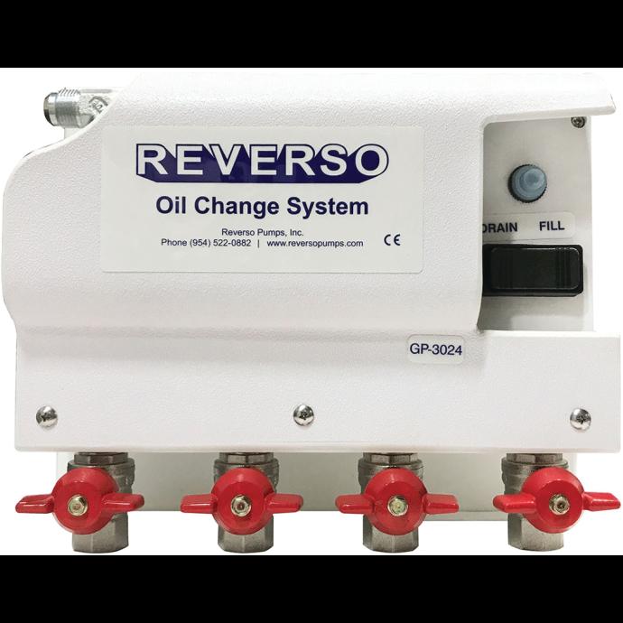 3020 Series Medium Duty Oil Change System - 4 Valves
