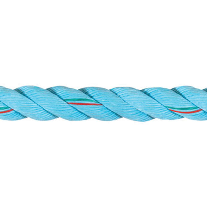 Ultra Blue Three-Strand Line
