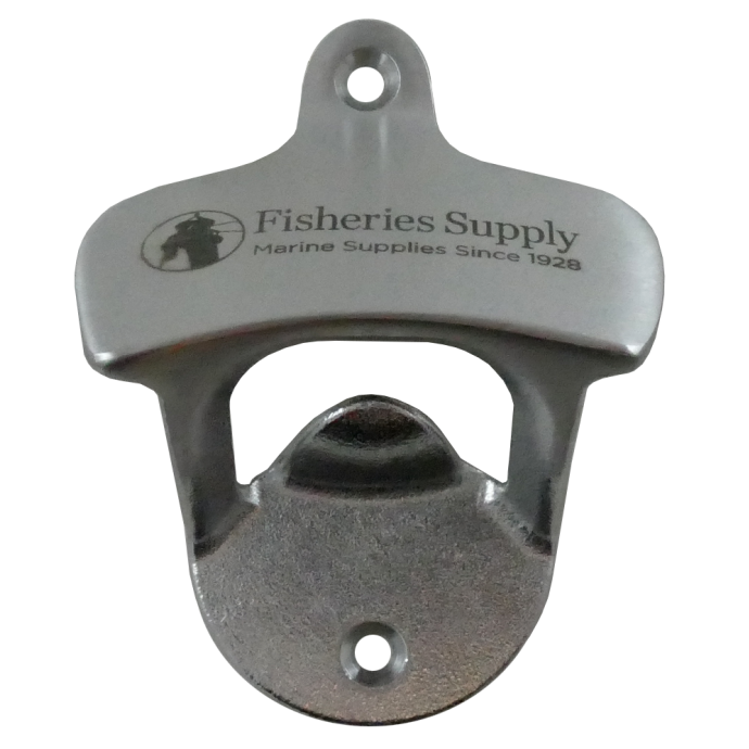 front view of Sea-Dog Line Bottle Opener with Fisheries Logo