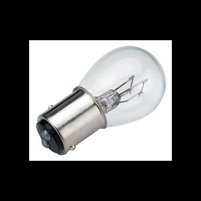 Sea-Dog Line No. 1157 Double Contact Bayonet Indexed Base Bulb - Dual Filament, 12V, 30W