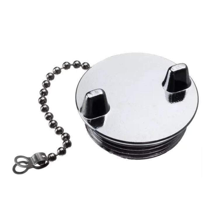 """Sea-Dog Line Replacement Cap - for """"Gas"""" Hose Deck Fill With Splash Guard"""