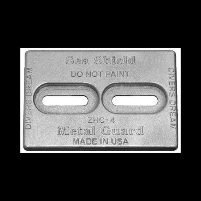 zhc-4-alu of Sea Shield Marine Mini Dicers Dream Aluminum Anode