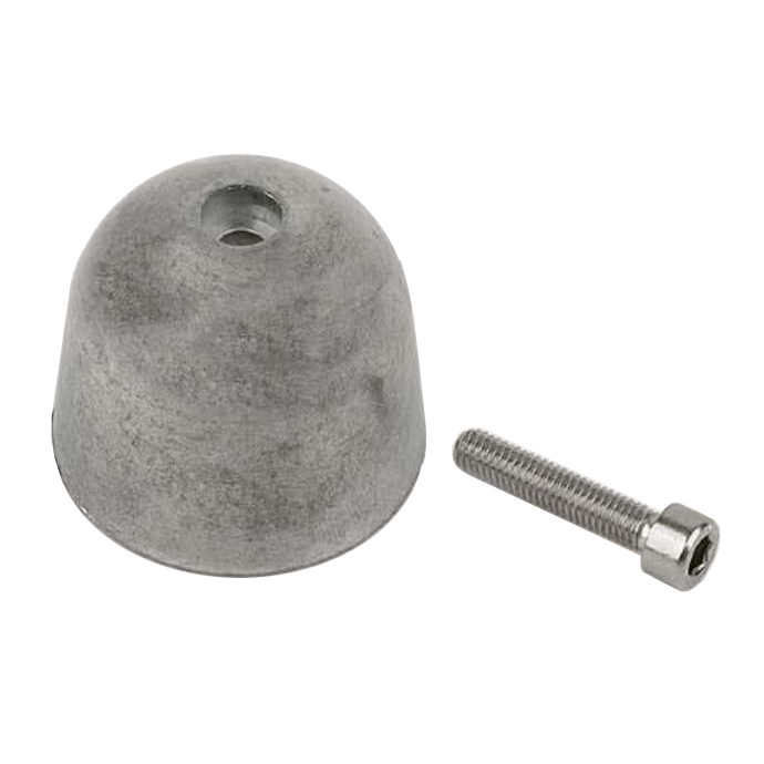 Aluminum Alloy Anode, 215mm to 300mm Tunnel Thrusters