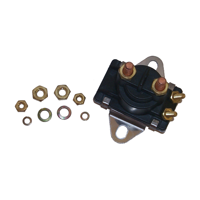 Vertical Post Solenoid with Angle Bracket