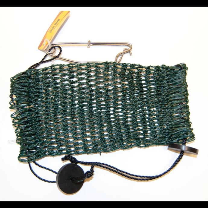 Bait Bag Mesh - Double Draw w/Snap - Green
