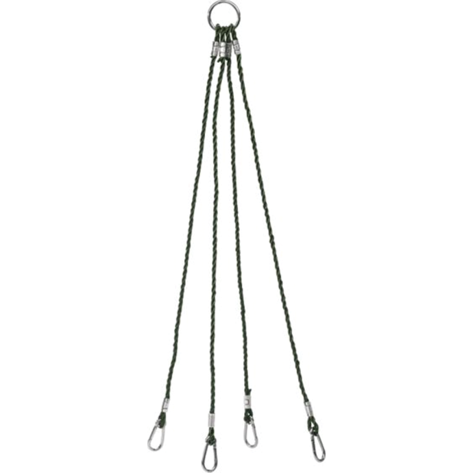 "Harness 36"" 4-Arm w/ 3"" Ringed-Eye Snaps"