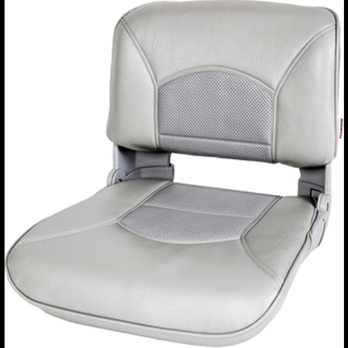 main of Tempress Profile Guide Series Boat Seat & Cushion Combo - Gray/Gray Perf