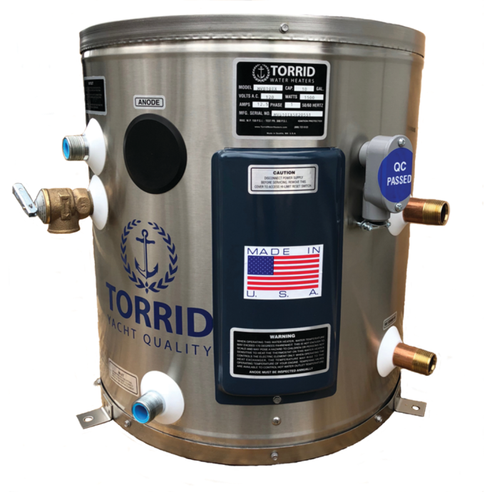 MVS 10 IX Marine Water Heater