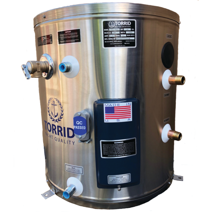 20 Gallon of Torrid MVS 20 IX Marine Water Heater