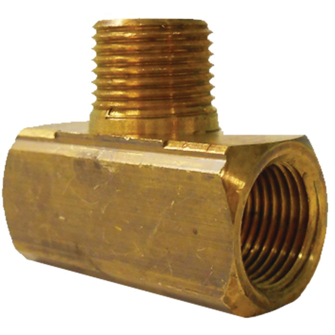 """3/8"""" FPT x 3/8"""" MPT x 3/8"""" FPT LPG Propane Gas Fitting"""